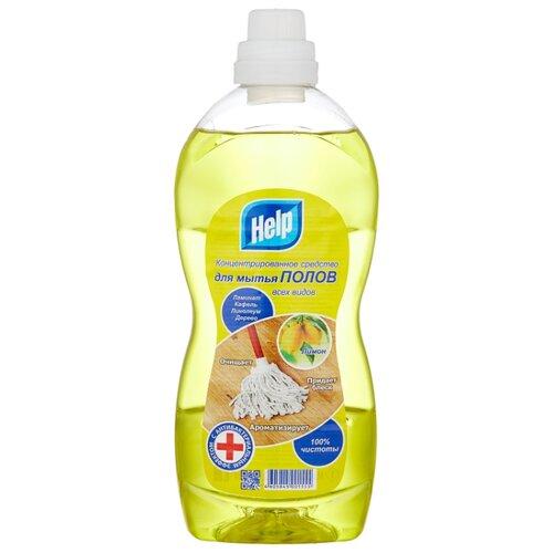 Help Средство для мытья полов Лимон 1 л белизна help 1 л