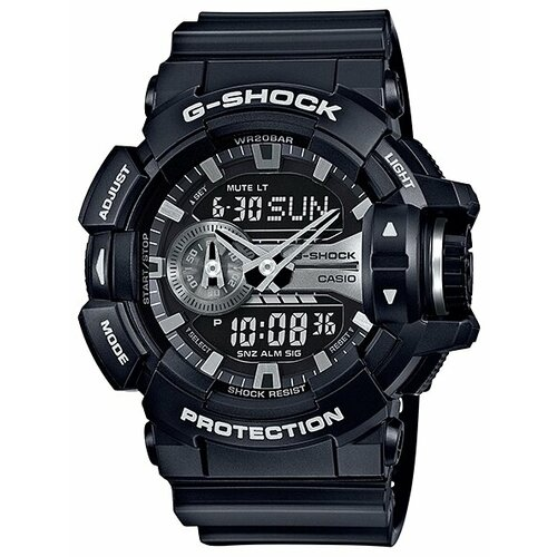 Наручные часы CASIO GA-400GB-1A наручные часы casio ga 120tr 1a