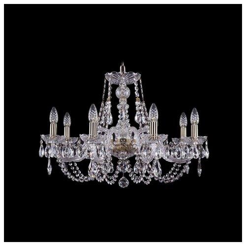 Люстра Bohemia Ivele Crystal 1406 1406/8/240/Pa, E14, 320 Вт люстра bohemia ivele crystal 1716 8 8 4 265b gb