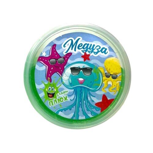 Лизун Плюх Медуза зеленый
