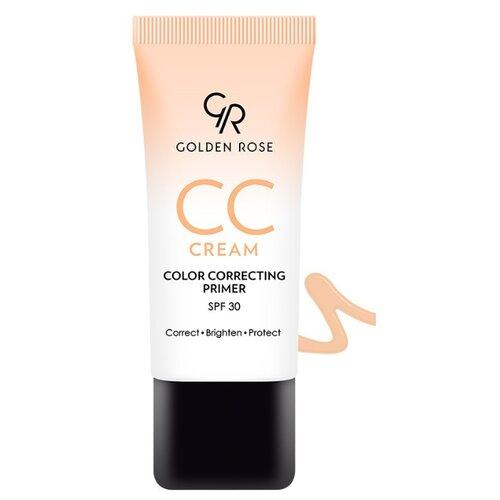 Golden Rose CC крем Color SPF30 30 мл, SPF 30, 30 мл, оттенок: оранжевый
