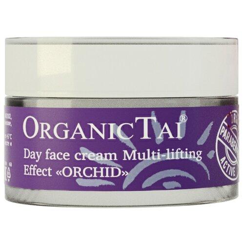 Organic TAI Дневной крем для лица мульти-лифтинг эффект Орхидея, 50 мл markell everyday skin care program крем лифтинг для лица дневной орхидея 50 мл