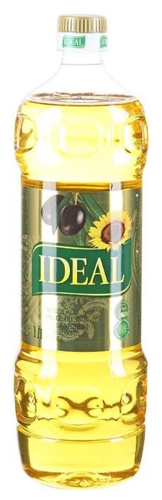 Ideal Масло подсолнечное с добавлением оливкового масла Extra Virgin