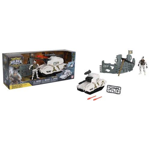 Купить Игровой набор Chap Mei Soldier Force - Стремительная атака (Танк) 545008-1, Игровые наборы и фигурки