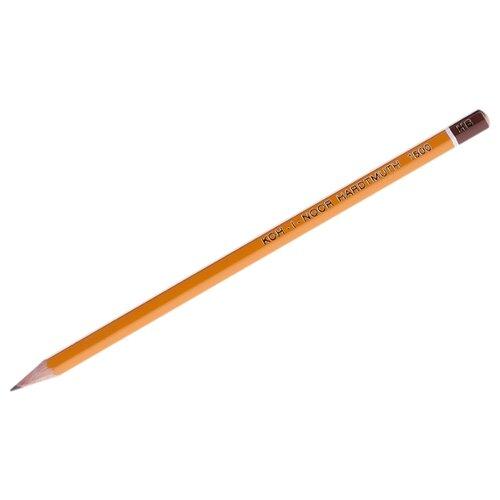 KOH-I-NOOR Карандаш чернографитный 1500 1 шт (15000HB01170RU) карандаш чернографитный koh i noor 1500 2h деревянный лакированный корпус 1500 2h