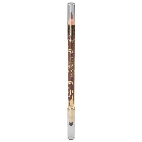 Chatte Noire Карандаш для век De Luxe, оттенок №311 ореховый коричневый chatte noire карандаш для губ de luxe 364