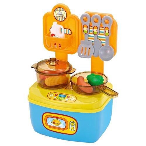 Фото - Кухня ABtoys Помогаю Маме PT-01042 голубой/желтый кухня abtoys помогаю маме pt 00791 розовый белый серый