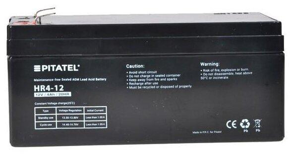 Аккумуляторная батарея Pitatel HR4-12 4 А·ч — купить по выгодной цене на Яндекс.Маркете