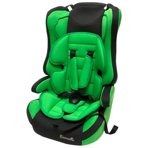 Автокресло группа 1/2/3 (9-36 кг) Carmella 513 RF, green/grey группа 1 2 3 от 9 до 36 кг carmella 513 rf и protectionbaby защитная накидка на спинку переднего сиденья автомобиля