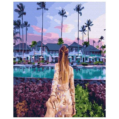 Купить Картина по номерам ВанГогВоМне ZX 21903 Следуй за мной. Гавайи 40х50 см, Картины по номерам и контурам