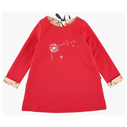 Фото - Платье Mini Maxi размер 98, красный/бежевый платье mini maxi размер 98 синий красный