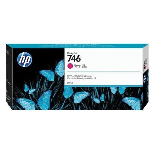 Фото - Картридж струйный для плоттера HP (P2V78A) DesignJet Z6, Z9+, 300 мл, пурпурный, оригинальный принтер hp designjet z6 44 in