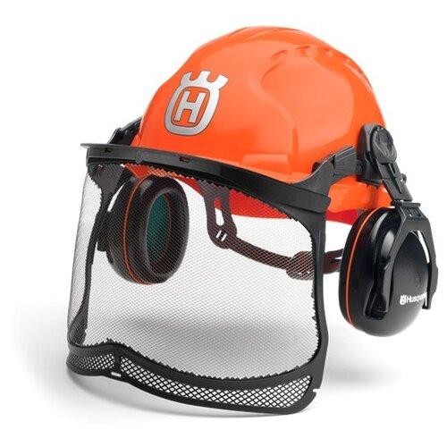 Шлем Husqvarna Classic (5807543-01) оранжевый аккумулятор съемный husqvarna bli 100 9670918 01