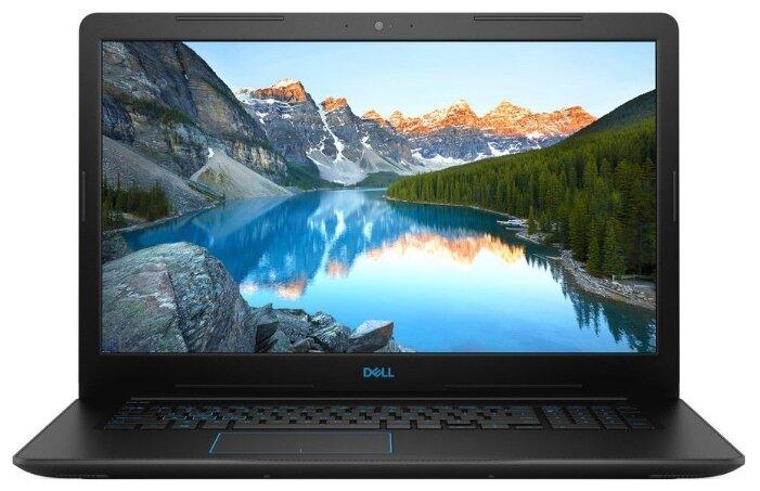 "Ноутбук DELL G3 17 3779 (Intel Core i7 8750H 2200 MHz/17.3""/1920x1080/8GB/1128GB HDD+SSD/DVD нет/NVIDIA GeForce GTX 1050 Ti/Wi-Fi/Bluetooth/Linux)"