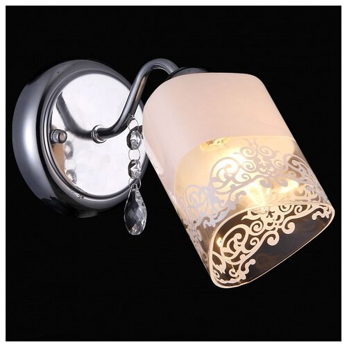 цена на Настенный светильник Natali Kovaltseva 75019-1W CHROME, 40 Вт