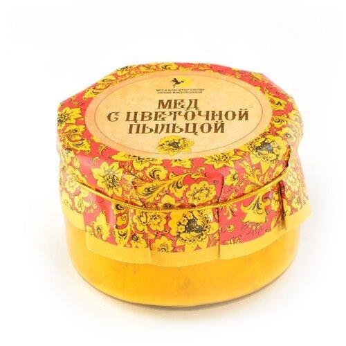 Крем-мед Мед и Конфитюр Русский стиль с цветочной пыльцой 230 г ахматова а дикий мед