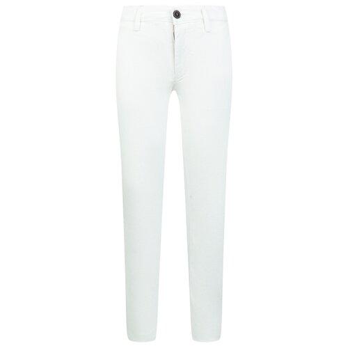Брюки Paolo Pecora размер 128, белый футболка paolo pecora размер 128 белый