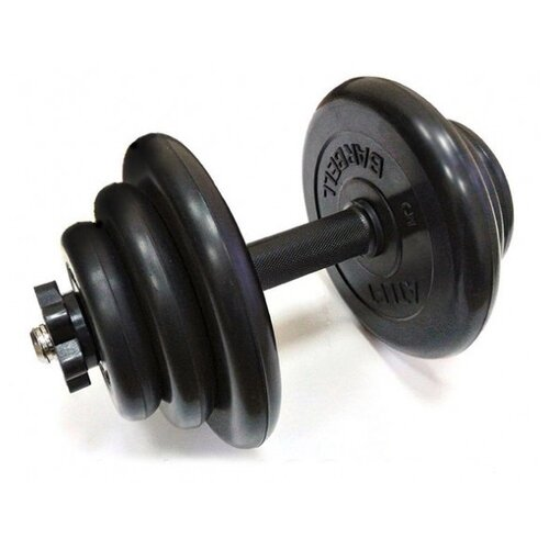 Гантели разборные 1 шт по 19 кг Barbell Atlet черный
