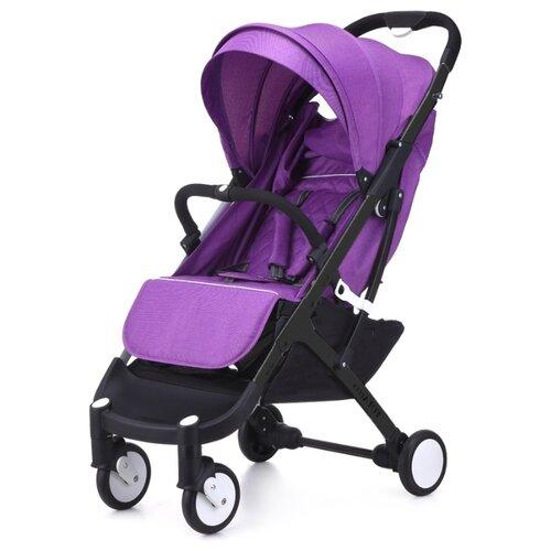 Купить Прогулочная коляска Yoya Plus фиолетовый/черная рама, цвет шасси: черный, Коляски