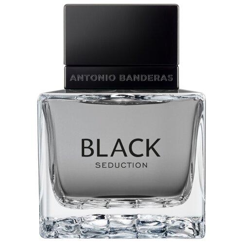 Туалетная вода Antonio Banderas Seduction in Black, 50 мл дезодорант спрей antonio banderas seduction in black 150 мл
