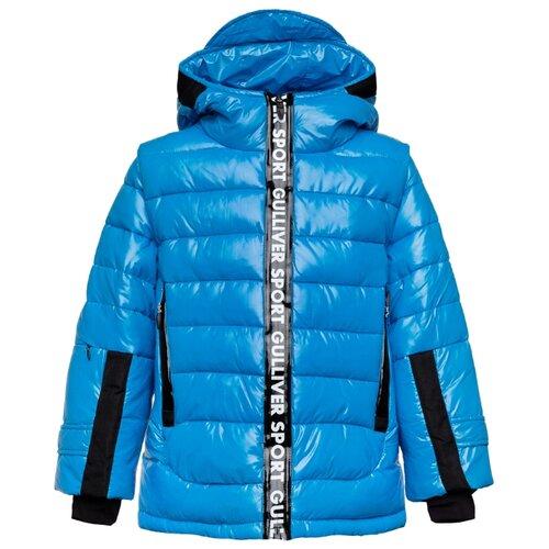 Купить Куртка Gulliver 219FBC4102 размер 140, синий, Куртки и пуховики