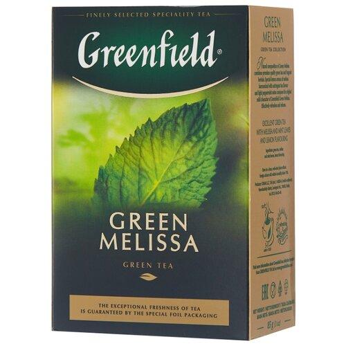 Чай зеленый Greenfield Green Melissa, 85 г