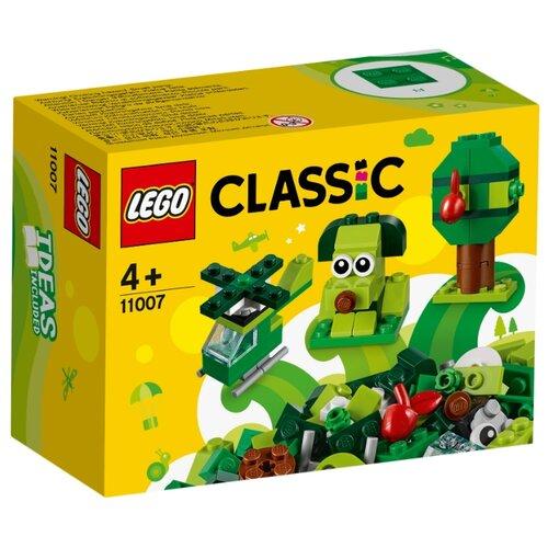 Купить Конструктор LEGO Classic 11007 Зелёный набор для конструирования, Конструкторы