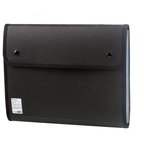 Купить BRAUBERG Папка для конференций, А4, 5 отделений (226015) черный, Файлы и папки