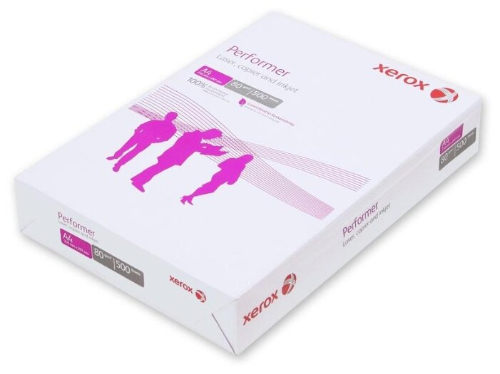 Бумага A4 500 шт. Xerox Performer