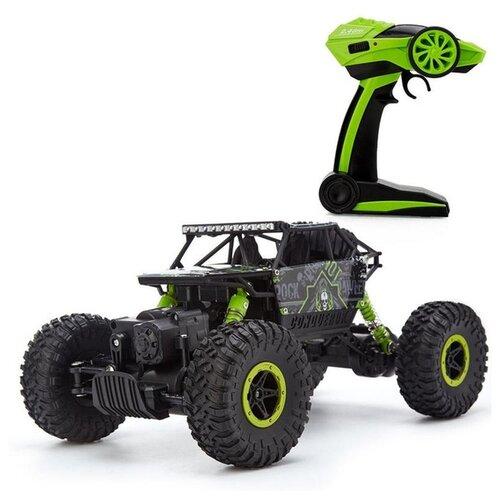 Купить Монстр-трак Junfa toys Rock Through (HB-P1803) 1:18 28 см, Радиоуправляемые игрушки