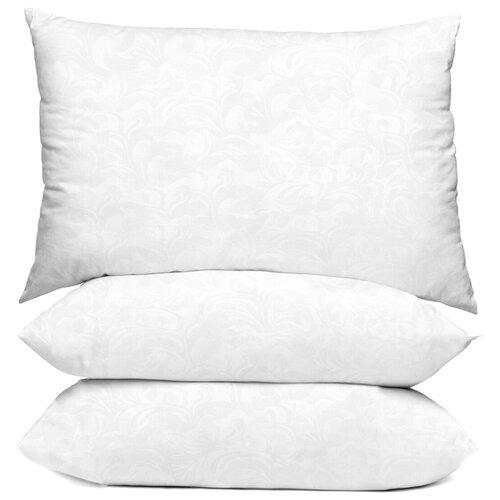 Подушка Сирень 70/70 0,7кг микрофибра белая ПШ010