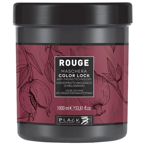 Black professional line Rouge Color Lock Маска для защиты цвета волос, 1000 мл шампунь black professional line шоколад и кератин 500 мл