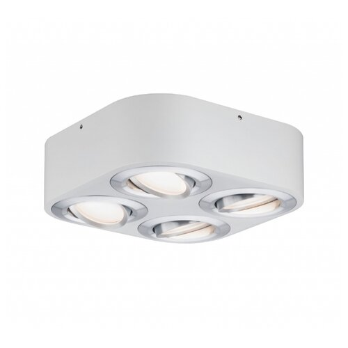 Потолочный светильник WD Argun dim LED 4x4,8W Ws Alu geb Mt 79711