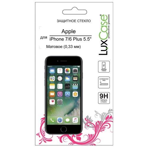 Защитное стекло LuxCase матовое для Apple iPhone 6 Plus/7 Plus прозрачный фото