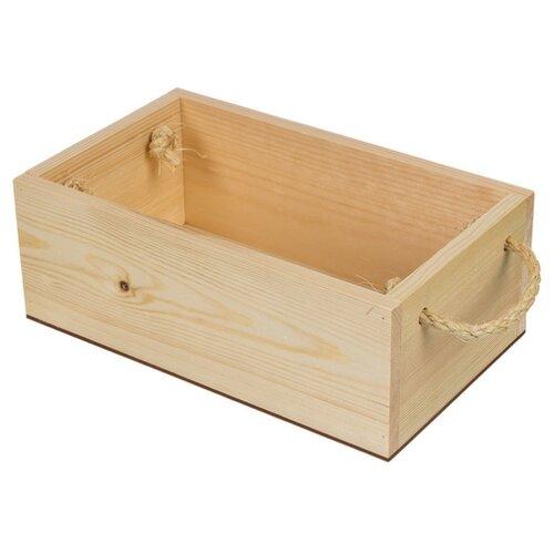Купить Mr. Carving Заготовка для декорирования Поднос с веревочными ручками ВД-484 бежевый, Декоративные элементы и материалы