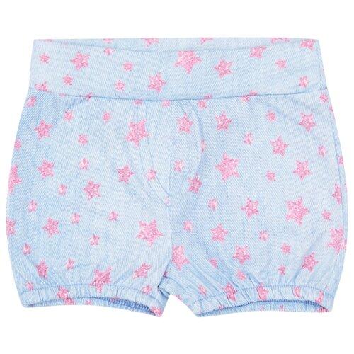 Купить Шорты Leader Kids Моя принцесса ЛКЛ20222072 размер 68, голубой, Брюки и шорты