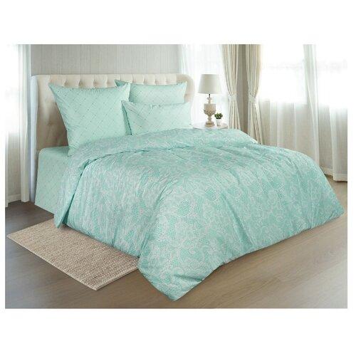 Фото - Постельное белье 2-спальное макси Guten Morgen Mint lace (926), перкаль, 70 х 70 см зеленый постельное белье 2 спальное макси guten morgen 884 поплин 70 х 70 см голубой белый