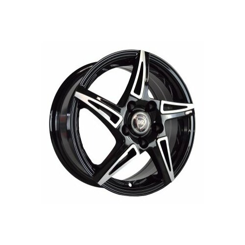 Фото - Колесный диск NZ Wheels SH661 7x18/5x105 D56.6 ET38 BKF колесный диск nz wheels sh676 7x18 5x105 d56 6 et38 bkf