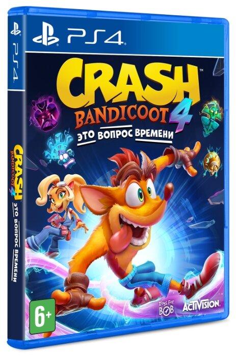 Игра для PlayStation 4 Crash Bandicoot 4: Это Вопрос Времени, русские субтитры фото 1