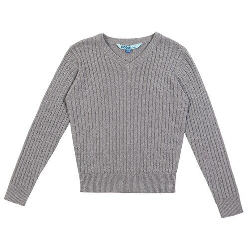Пуловер MODIS размер 128, серый