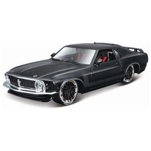 Купить Maisto Машинка 1:24 Design Classic Muscle - 1970 Ford Mustang Boss 302 , черный, Машинки и техника
