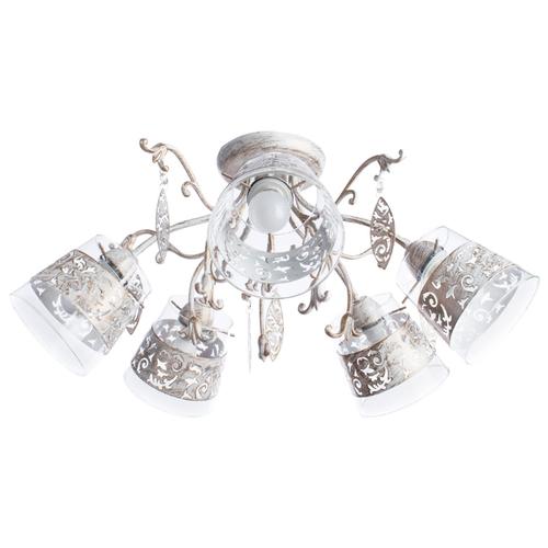 цена Люстра Arte Lamp Calice A9081PL-5WG, E14, 200 Вт онлайн в 2017 году