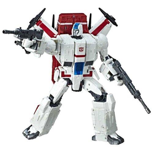 Купить Трансформер Hasbro Transformers Джетфайер. WFC-S28. Коммандер (Война за Кибертрон: Осада) E4824 белый/красный, Роботы и трансформеры