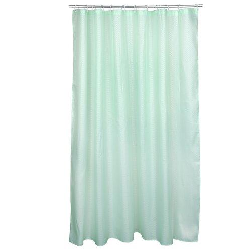 Штора для ванной Vetta 461053 180х180 зеленые просторы