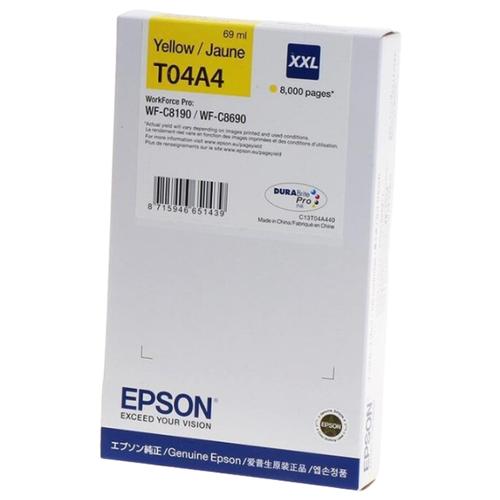 Фото - Картридж Epson C13T04A440 картридж струйный epson t04a4 c13t04a440 yellow