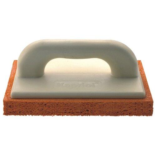 Тёрка для шлифовки штукатурки с губкой Kapriol 23072 280x140 мм терка штукатурная kapriol с мелкой губкой 14 см х 21 см