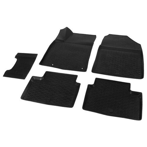 Комплект ковриков RIVAL 12801006 Kia Cee\'d 5 шт. черный