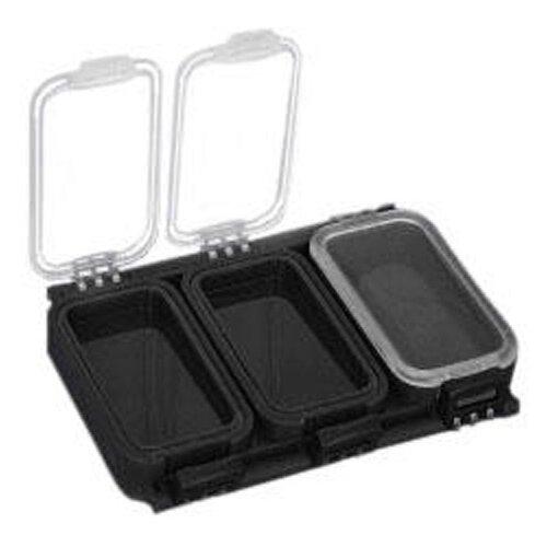 Коробка для приманок для рыбалки MIKADO UABM-005 11.5х7.9х2.2 см черный