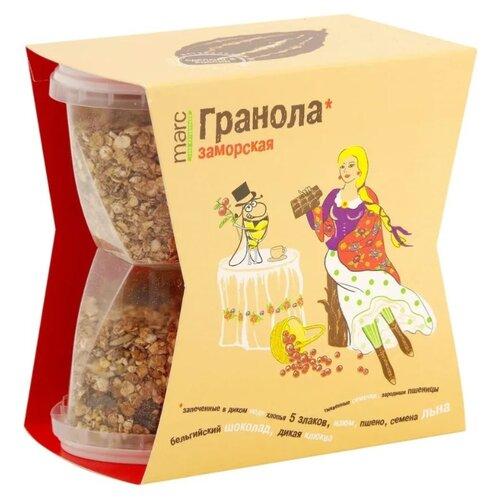 Гранола Marc 100% натурально Заморская, коробка, 390 г