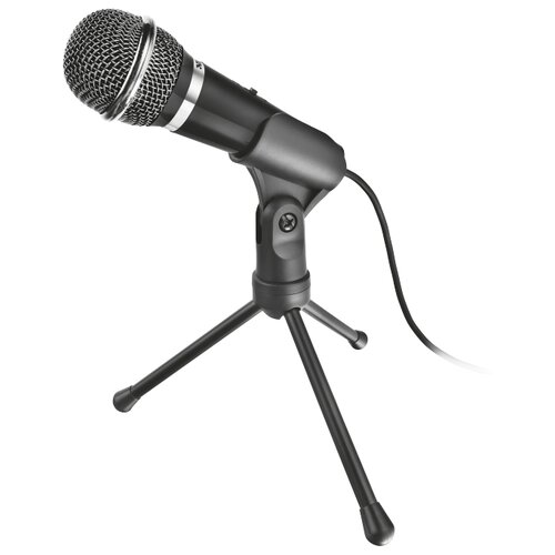 Микрофон Trust Starzz, черный